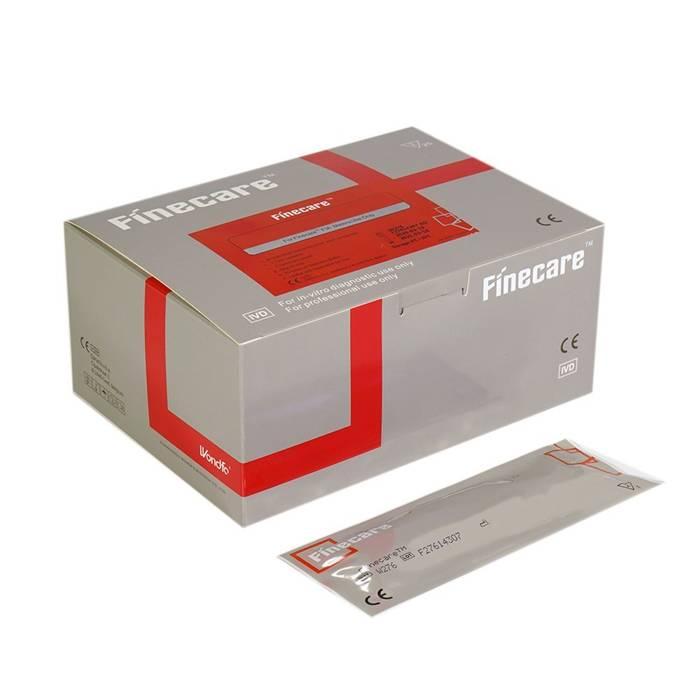 β-hCG FINECARE™ 25 szt. - FIA METER - szybki ilościowy test immunofluorescencyjny