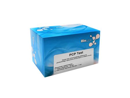 BioLine PCP Test, test płytkowy, czułość 25 ng/ml