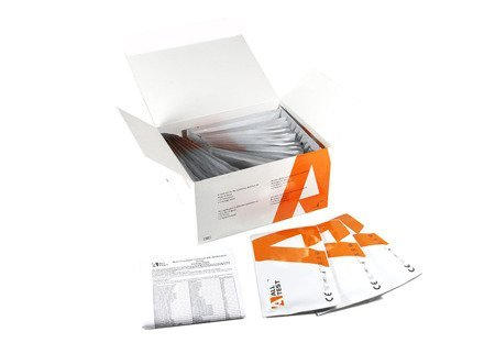 Test wykrywający tzw. dopalacze w moczu - Multi-Drug Rapid Test Cassette - K2, MDPV, CAT, OXY,  MEP - 25 testów