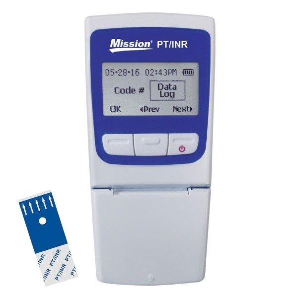 Mission PT/INR Meter - Aparat do badania krzepliwości krwi do użytku profesjonalnego i domowego